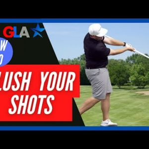 USE PVC PIPE TO FLUSH YOUR GOLF SHOTS