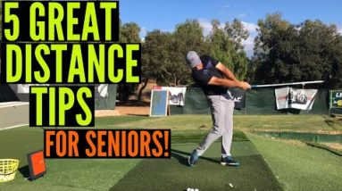5 Great Distance Tips for Older Golfers!