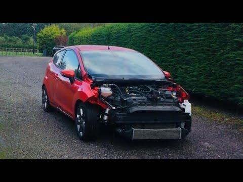 Copart Damaged Fiesta ST 2 SALVAGE REBUILD + New Teeth + NV 200