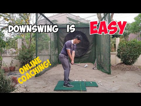 [Golf Instruction VLOG] Downswing is easy. What it should look like Part 2 ONLINE COACHING ALERT!!!